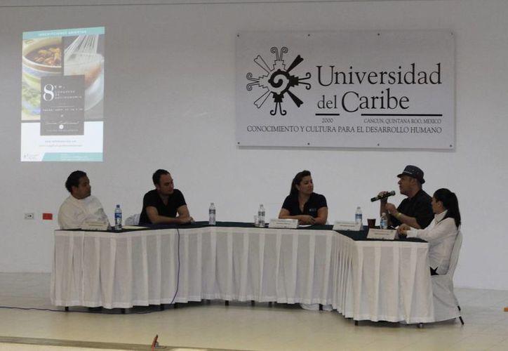 Las actividades se desarrollaron durante el octavo Congreso de Gastronomía de la Unicaribe. (Sergio Orozco/SIPSE)