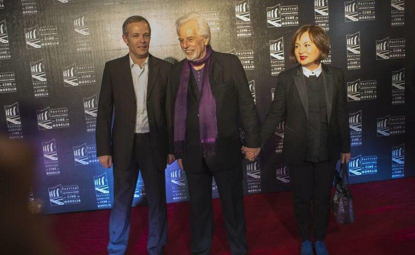 Jodorowsky (centro) llevaba 20 años sin hacer cine. (Notimex)