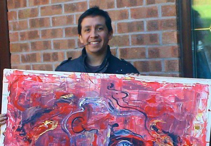 Cuando no esta de gira, Paco Rocha exhibe sus obras en el corredor Arte en Playa, en Playa del Carmen. (Cortesía)