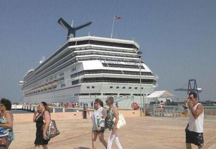 Buena semana para el sector turístico en el puerto. (Foto:Novedades Yucatán)