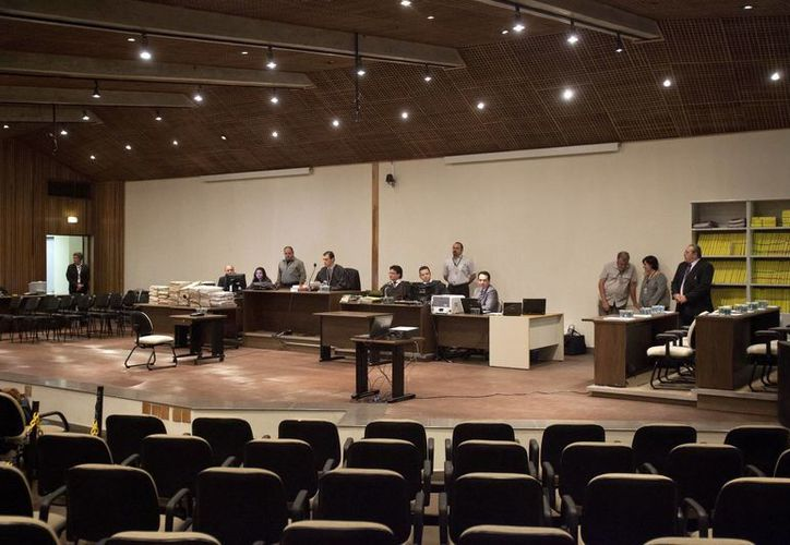 """Vista el 15 de abril de 2013, del tribunal de Sao Paulo (Brasil) que retomó el juicio por la """"masacre de Carandirú"""". (EFE/Archivo)"""