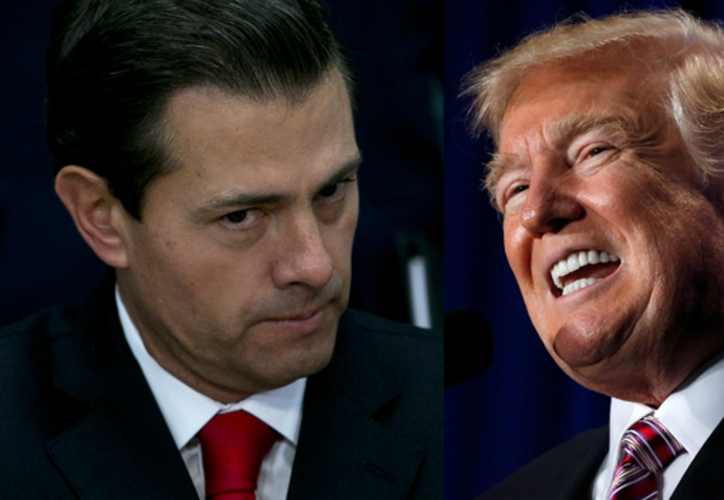 """El mandatario estadounidense le dijo a su homólogo mexicano que """"no le podía decir eso a la prensa"""" porque él no podía """"negociar en esas circunstancias"""". (Contexto/Internet)"""
