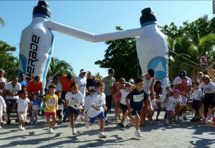 El evento deportivo tendrá una categoría infantil en la carrera. (Redacción/SIPSE)