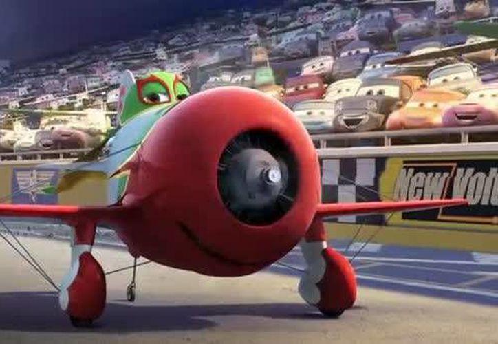 Chupacabras o Chu es un enamoradizo avión de origen mexicano. (tu.tv/videos)
