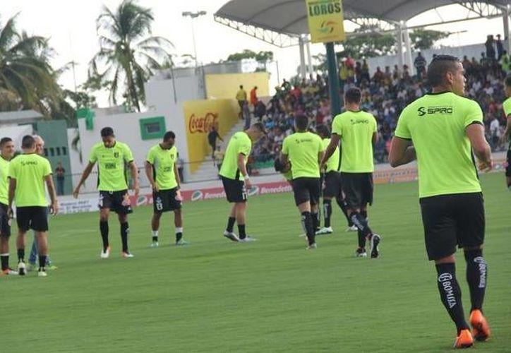 El equipo yucateco ha tenido un mal arranque, luego de perder ante Loros en la Liga y frente al América en el inicio de la Copa MX.(Milenio Novedades)