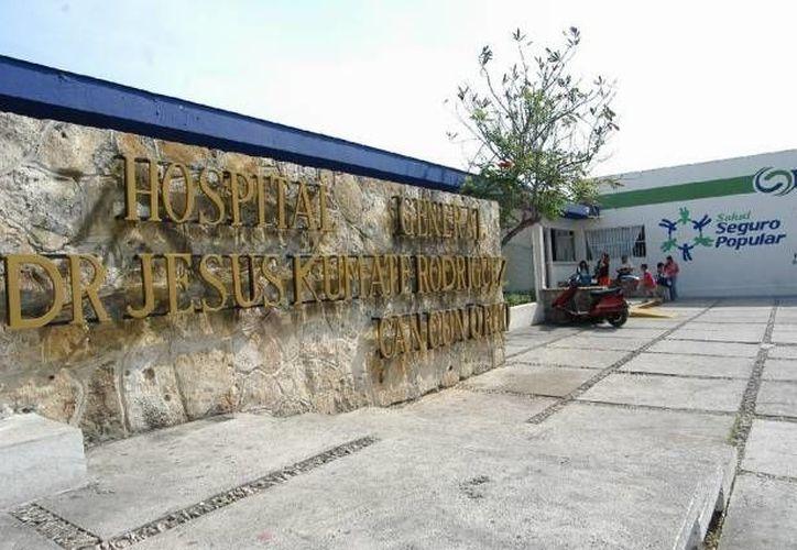 La unidad se ubica a espaldas del Hospital General. (Archivo/SIPSE)