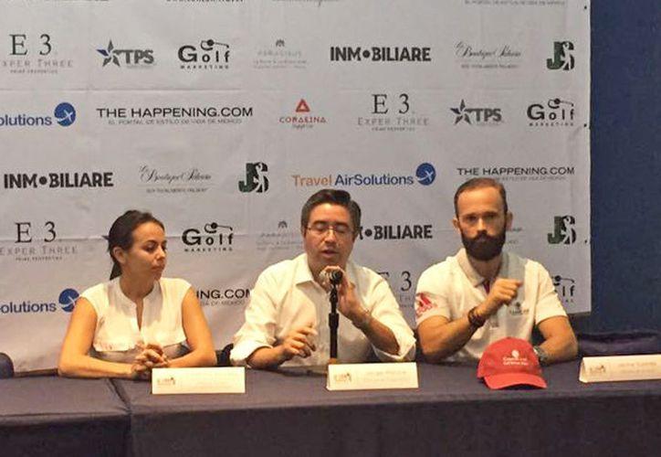 Los organizadores presentaron  la primera edición de la MEX Cup Invitacional. (Jesús Tijerina/SIPSE)