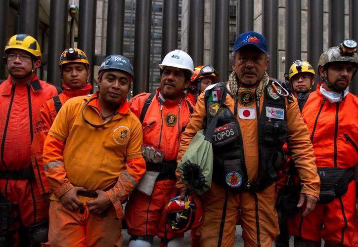 Los rescatistas mexicanos estuvieron en el sur de Chile. (Notimex/Archivo)