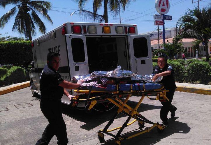 El sujeto fue herido de bala en la zona hotelera de Cancún. (Redacción/SIPSE)