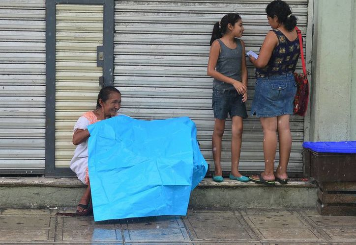 Las condiciones de lluvia pronosticadas por Conagua para la Península de Yucatán se extenderán para el próximo fin de semana. (SIPSE)