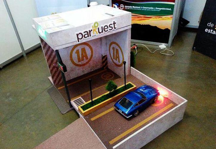 Esta tecnología de última generación permitirá a un conductor encontrar un cajón de estacionamiento en siete minutos. (Kioru/@Kioru_Mx/Milenio)