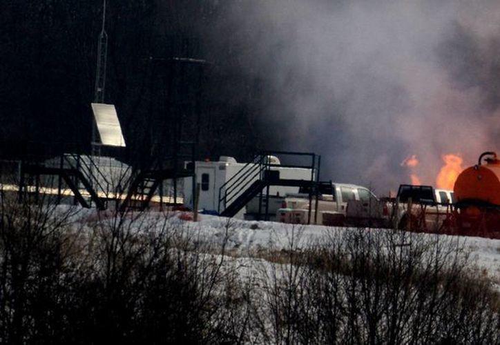 El poblado de Bobtown, de menos de mil habitantes, fue afectado por una explosión de la petrolera Chevron la semana pasada. (post-gazette.com)