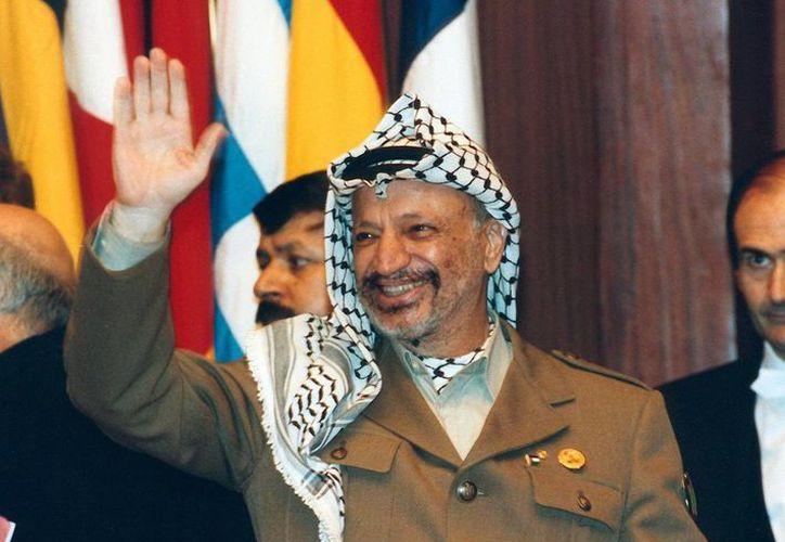 Los restos de Arafat, fallecido a los 75 años, se exhumaron en noviembre de 2012. (Archivo/EFE)