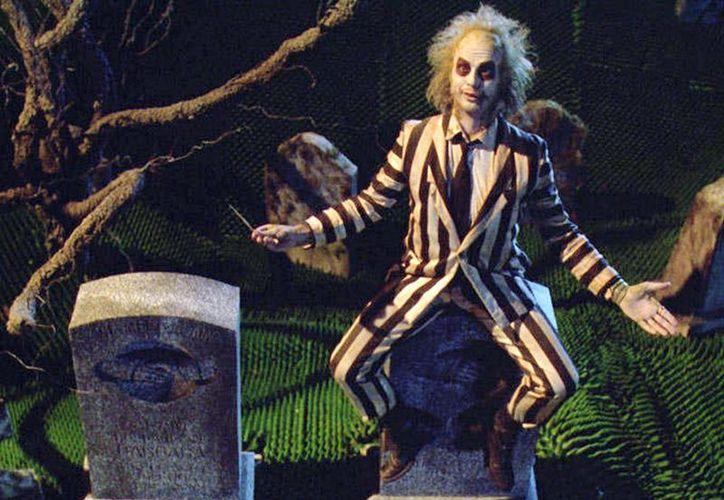 Imagen del actor Michael Keaton en el papel de Beetlejuice. (Warner Bros)