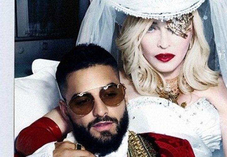 """Madonna lanzará este miércoles su nuevo sencillo """"Medellin"""", en el que canta con Maluma. (Instagram)"""