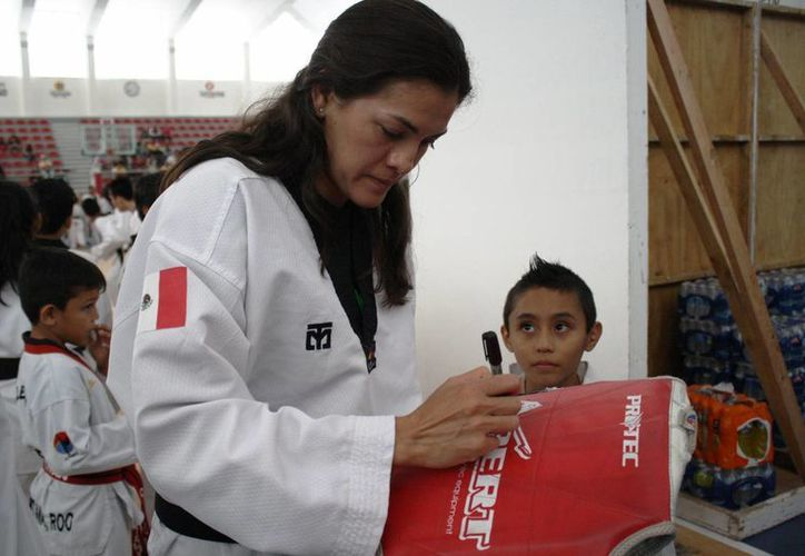 La campeona olímpica buscará calificar el 6 de marzo en su evaluación en Aguascalientes. (Octavio Martínez/SIPSE)