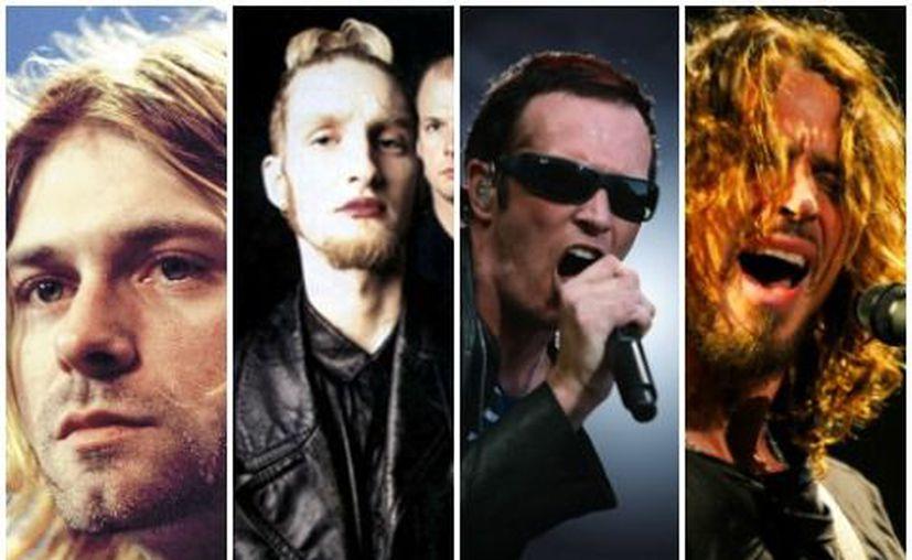 El suicidio o las drogas se 'han llevado' de este mundo a grandes vocalistas del grunge. (Milenio)