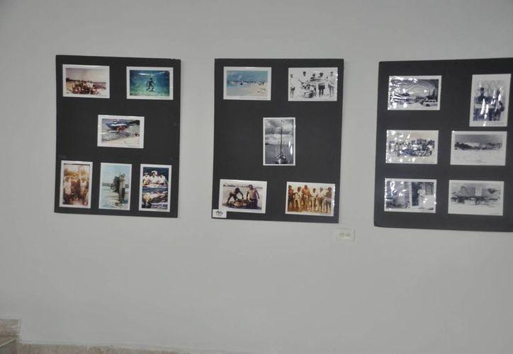 Las fotografías forman parte de las actividades programadas. (Loana Segovia/SIPSE)