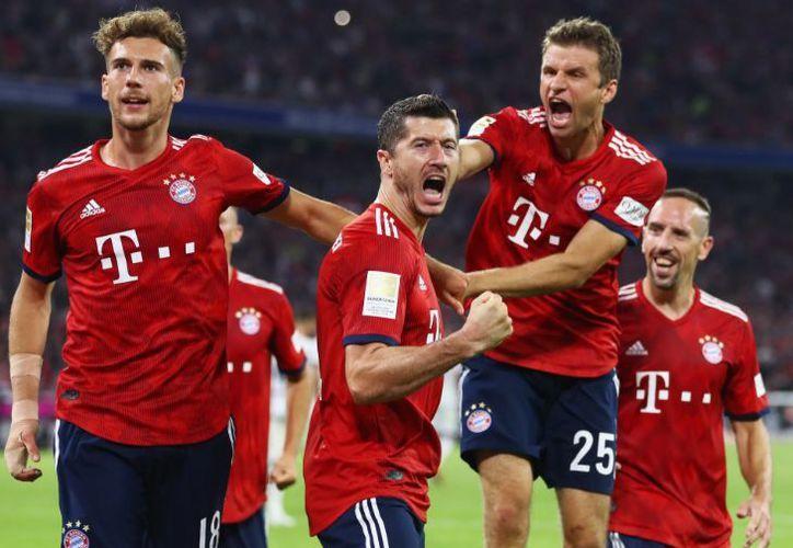 El campeón de la Bundesliga abrió su cuenta goleadora en esta nueva temporada 2018-2019. (Twitter)