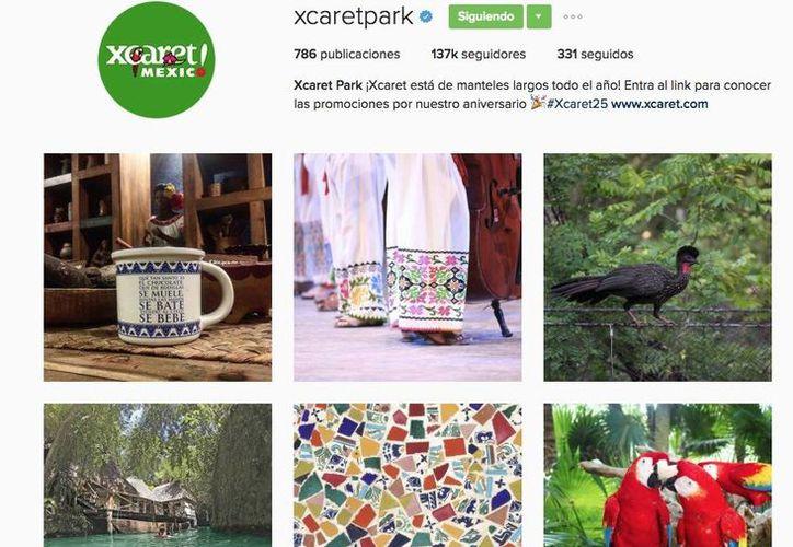 Xcaret logró colocarse en el sexto lugar de la lista de los lugares más populares de México en Instagram. (Xcaret)