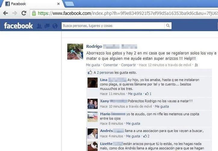 La publicación tuvo reacciones a favor y en contra. (Foto: Facebook)
