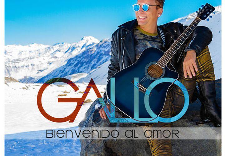 """La quinta producción discográfica """"Bienvenido al amor"""" del artista chileno. (Faride Cetina/SIPSE)"""