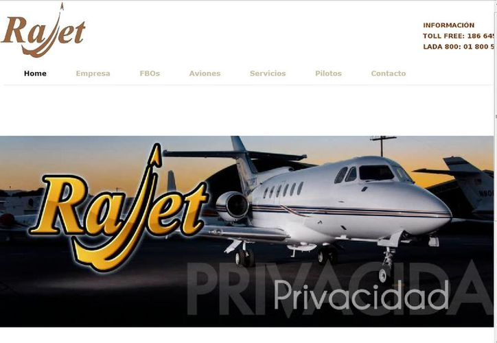 Denuncian ante Murillo Karam irregularidades de la empresa Rajet. (rajet.net)