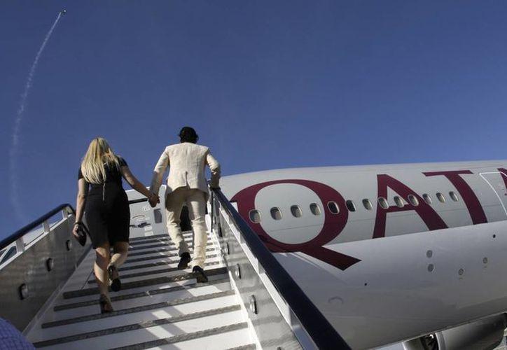 Qatar Airways vuela desde Doha hasta Auckland en poco más de 16 horas. (AP/Kamran Jebreili)
