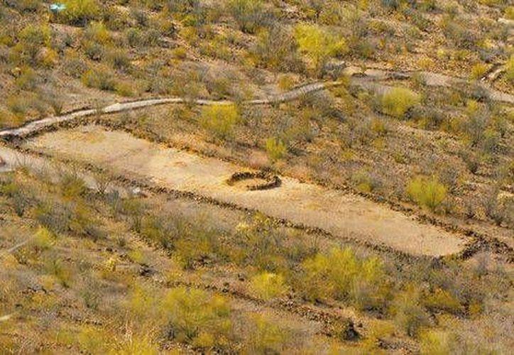 El sitio tiene una extensión de 100 hectáreas y se eleva 170 metros sobre el valle circundante. (Jesús Quintanar/Milenio)