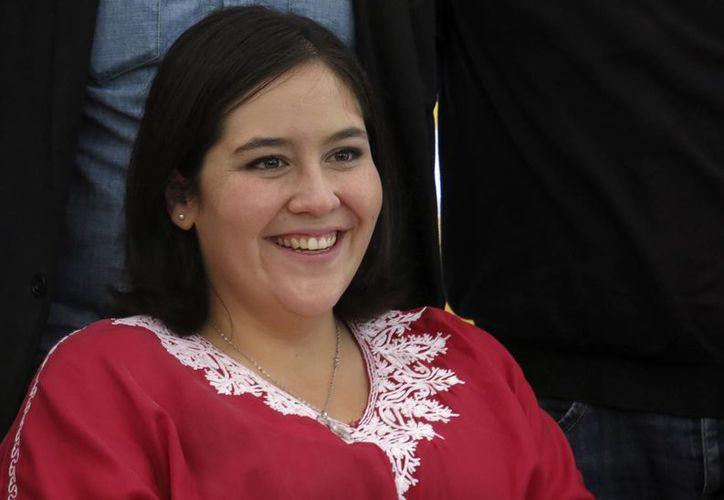 Daniela Rincón es de las pocas actrices que estelariza un filme en una industria dominada por famosas de cuerpos esbeltos. (AP)