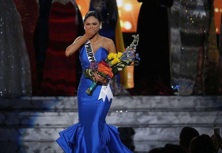 La ganadora de Miss Universo, Pia Alonzo Wurtzbach, representante de Filipinas. (AP)