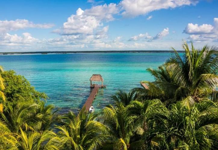 En el balneario se cuenta con dos biodigestores donde se vierten las aguas negras, generadas por la afluencia turística. (Javier Ortiz/SIPSE)