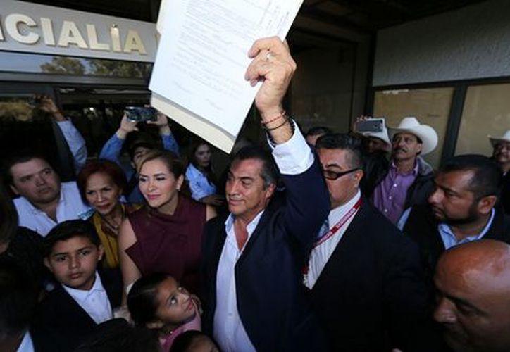 El gobernador de Nuevo León y aspirante a candidato independiente a la Presidencia de la República, Jaime Rodríguez Calderón. (Milenio)