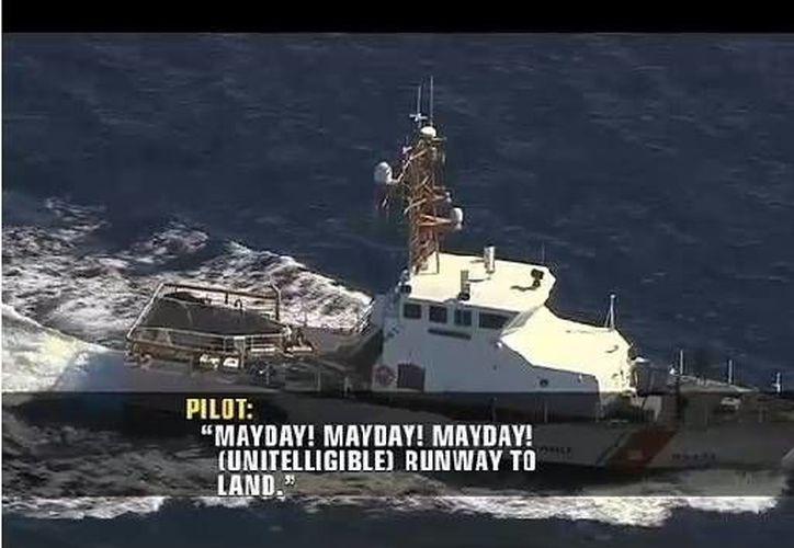 El canal 7 News subió a su portal imágenes de la búsqueda de sobrevivientes del accidente. (Redacción/SIPSE)