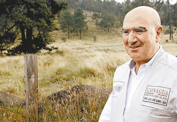 Juan José Guerra Abud, titular de la Semarnat. (Milenio)