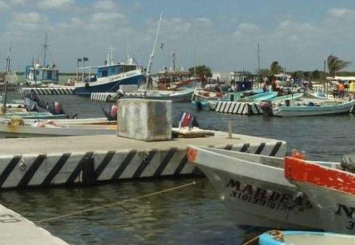 Con excepción de Progreso, los puertos de Yucatán permanecen cerrados por un nuevo frente frío. (Óscar Pérez/SIPSE)