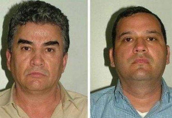 "Manuel Jesús Gutiérrez Guzmán (der) primo de ""El Chapo"" Guzmán, fue quien metió al cártel de Sinaloa a Samuel Zazueta Valenzuela (izq). (Excélsior)"