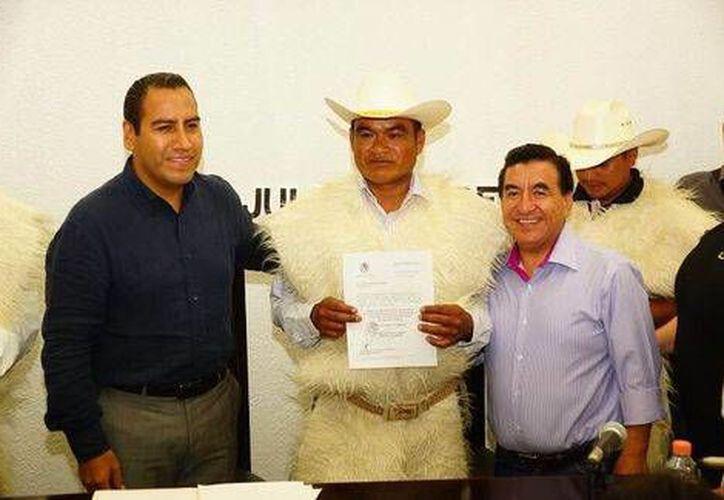 Mateo Gómez asumió el cargo como alcalde de San Juan Chamula el pasado 28 de julio. (Milenio)