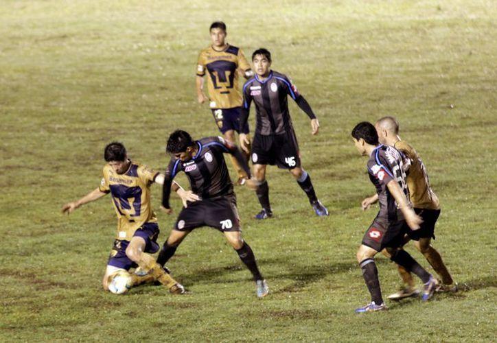 """El CF Mérida venció a la UNAM en el partido de """"ida"""". (SIPSE)"""