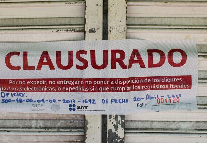 Este es el segundo negocio que es clausurado por la dependencia. (Daniel Pacheco/ SIPSE)