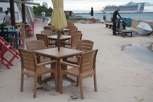 Lluvias causan problemas leves en Cozumel