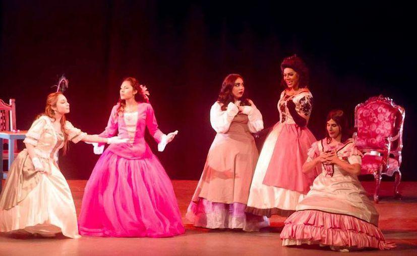 La obra de 'Las meninas' es traída por la compañía de Tabasco 'Tras los rostros'. (Milenio Novedades)