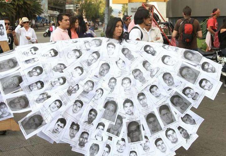 Los estudiantes de la Normal Rural Raúl Isidro Burgos desaparecieron en septiembre de 2014. (intoleranciadiario.com)