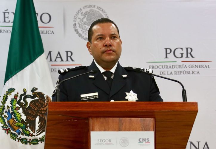 En una conferencia de prensa se dio a conocer la detención. (MVS Noticias)