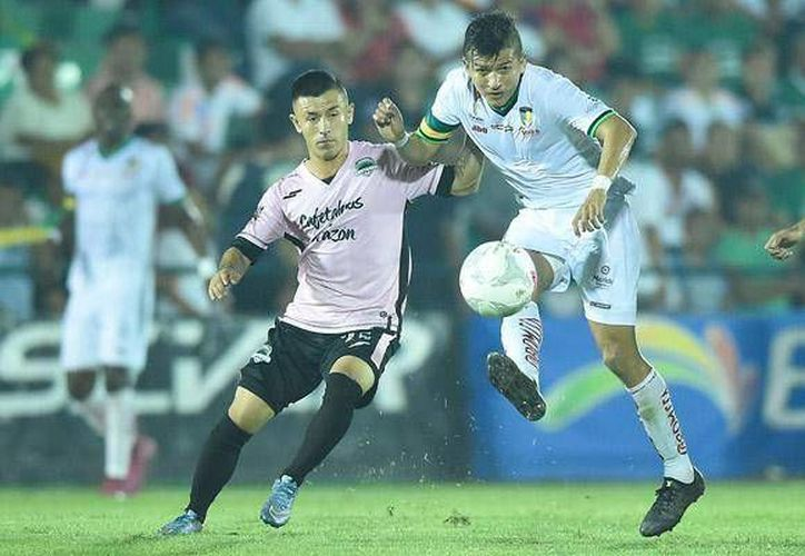 Los Venados de Yucatán consiguieron un 2-1 en casa de Cafetaleros de Chiapas que los mantiene como líderes del grupo seis. (facebook.com/CFMerida)