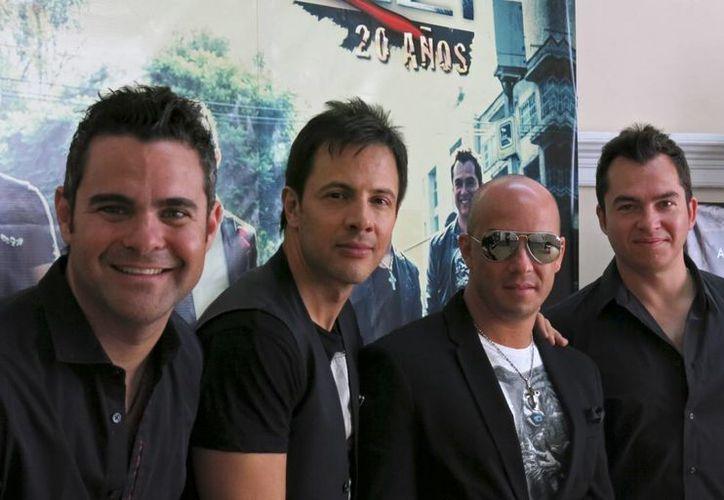 David, Deko, Gustavo y Marco regresaron a la escena musical con nuevos sonidos. (Agencias)