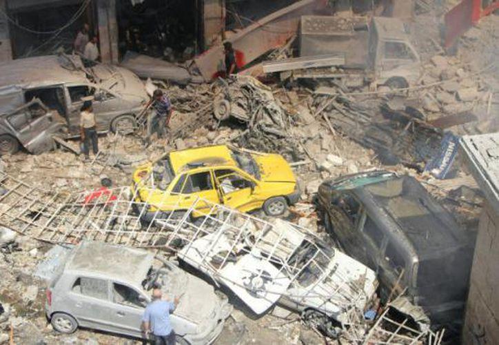 Al menos 29 personas murieron hoy y decenas resultaron heridas. (Perú 21)