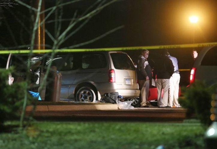La captura del autor de los tiroteos en Kalamazoo, Michigan, se logró tras siete horas de intensa persecución. (AP)