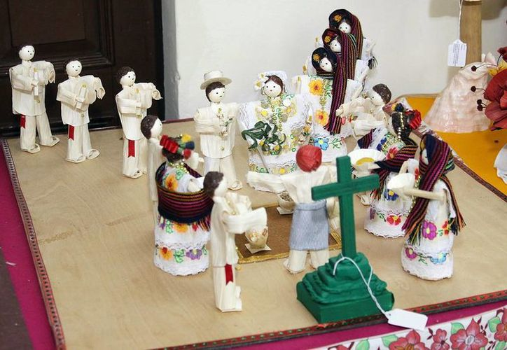 La  Comisión para el Desarrollo de los Pueblos Indígenas apoya la producción de artesanías. (Milenio Novedades)