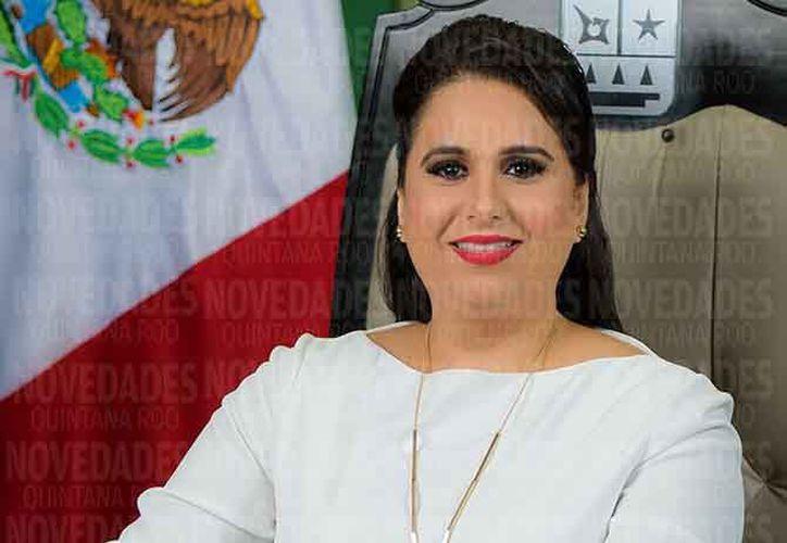 La alianza por México confirma a Mayuli Latifa Martínez, del blanquiazul. (Redacción)